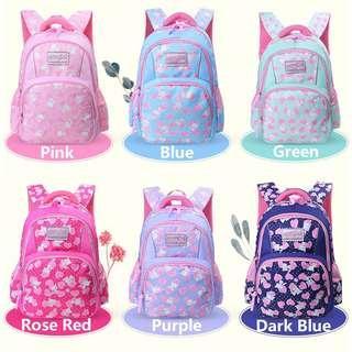 Korean Fashion Campus Girls Waterproof Breathable Shoulder Straps School Bag