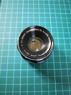 Canon 35mm ltm F2