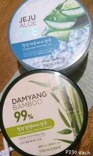 THE FACE SHOP Soothing Bamboo/aloe Gel