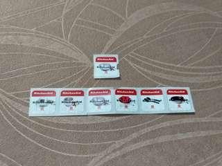 7個 七個 千色店 印花 Stamp Stamps