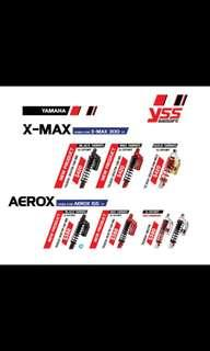 YSS Suspension for Xmax / Aerox