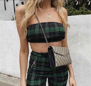 SALE🔥 Cami Strappy Palazzo Trouser Crop Top