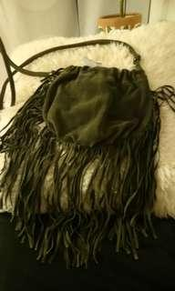 Real leather bag. New