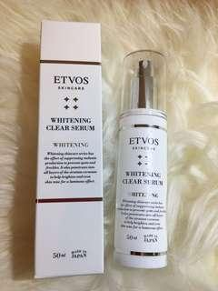 ETVOS Whitening Clear Serum (50ml) New Launch (100% Real & New) 包平郵