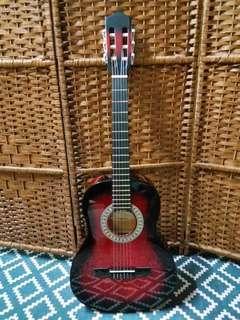 日本名牌 Toyama Hand Made Guitar~$300