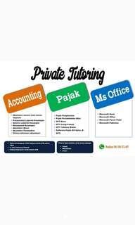 Privat Akuntansi Pajak Ms. Office