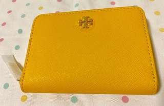 🚚 Tory Burch Leather Zip Coin Case