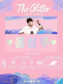 Wanna One Ong Seongwu Slogan