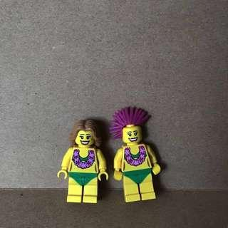 LEGO 8803 Hula Dancer Minifigures