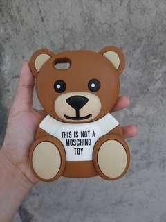 Moschino Rubber Case Iphone 5 5s 5c 5g