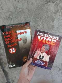 Horror Books and Vice Ganda Book