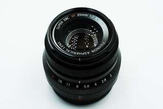 Fujifilm 35mm f2 R WR