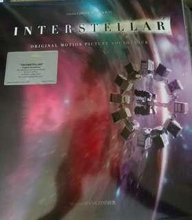 Mint sealed interstellar record vinyl ost hans Zimmer sealed