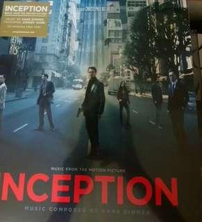 Sealed inception vinyl record ost sealed hans Zimmer