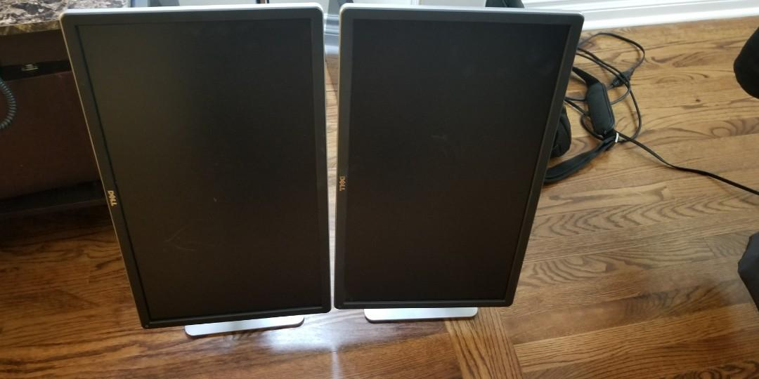 24 inch Monitor, excellent condition, all cables included $120 each