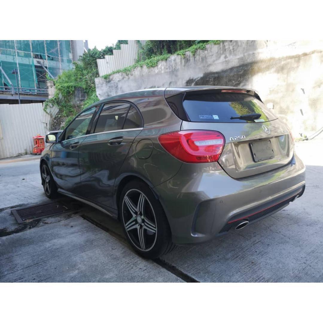 4MATIC S R.CAM Mercedes Benz A250 SPORT EDITON AMG 2014 UNREG JPN SPEC