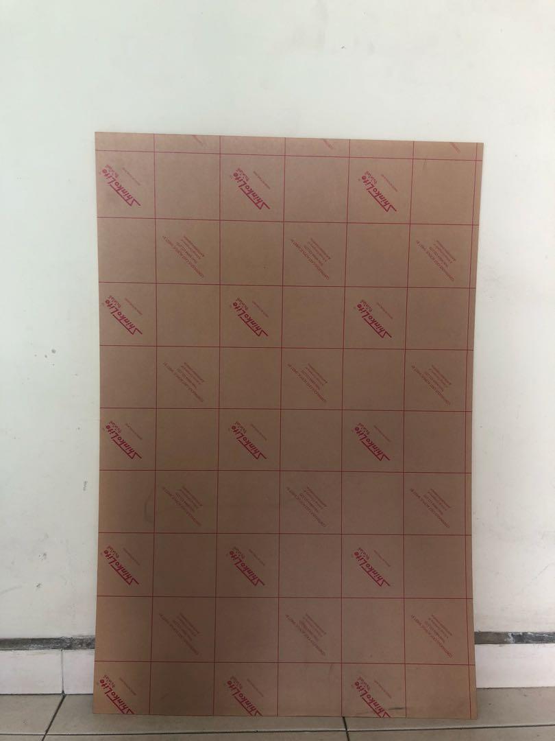 90cm x 60cm clear acrylic sheet 2mm