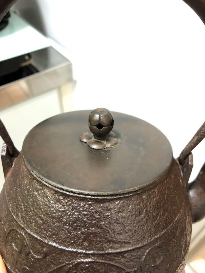 日本回流老鑄鐵茶壺
