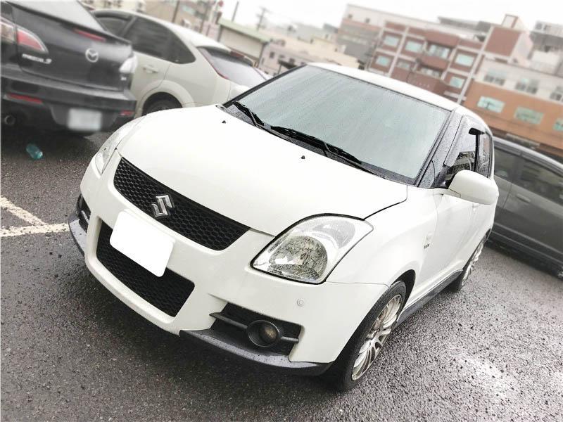 【全額貸】二手車 中古車 2006年 SWIFT 白色T3包 1.5