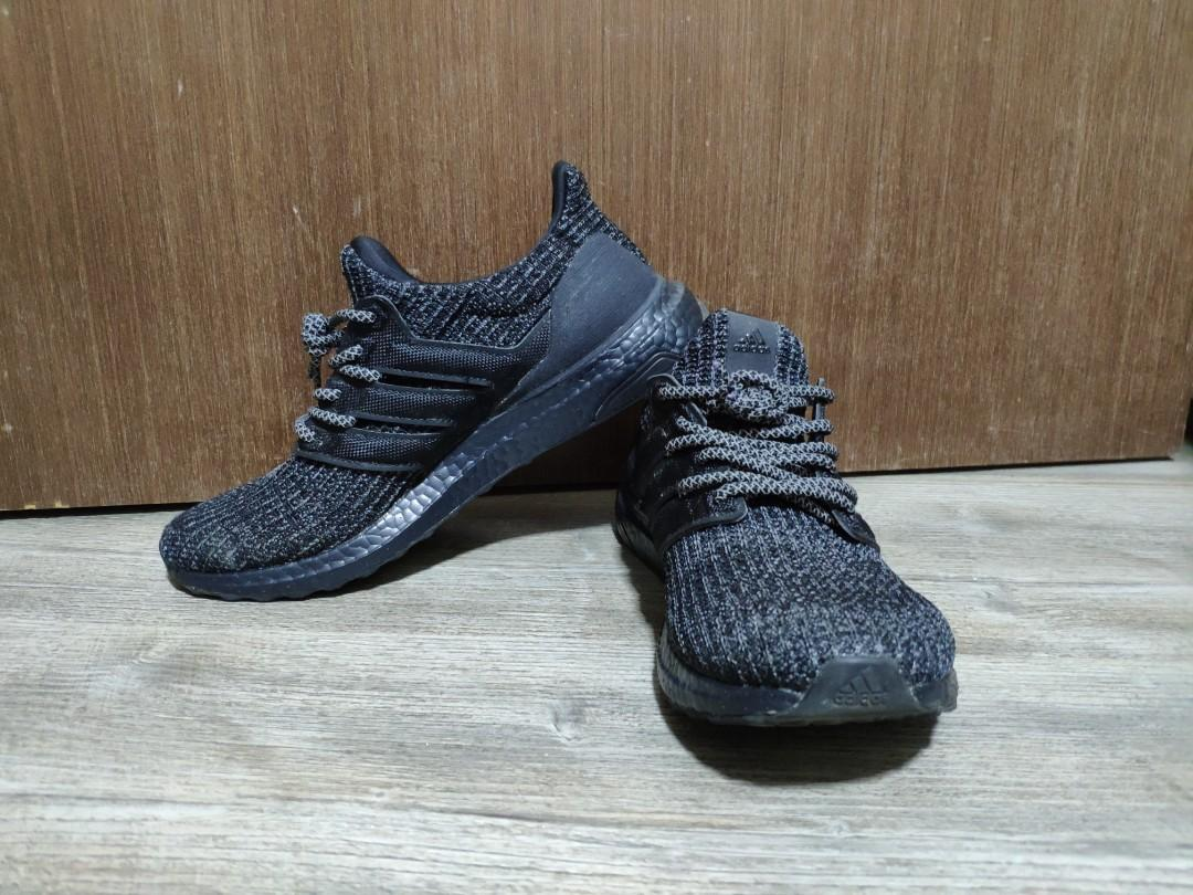 size 40 6fa51 3dcd7 Adidas Ultra Boost 3.0 Triple Black, Men's Fashion, Footwear ...