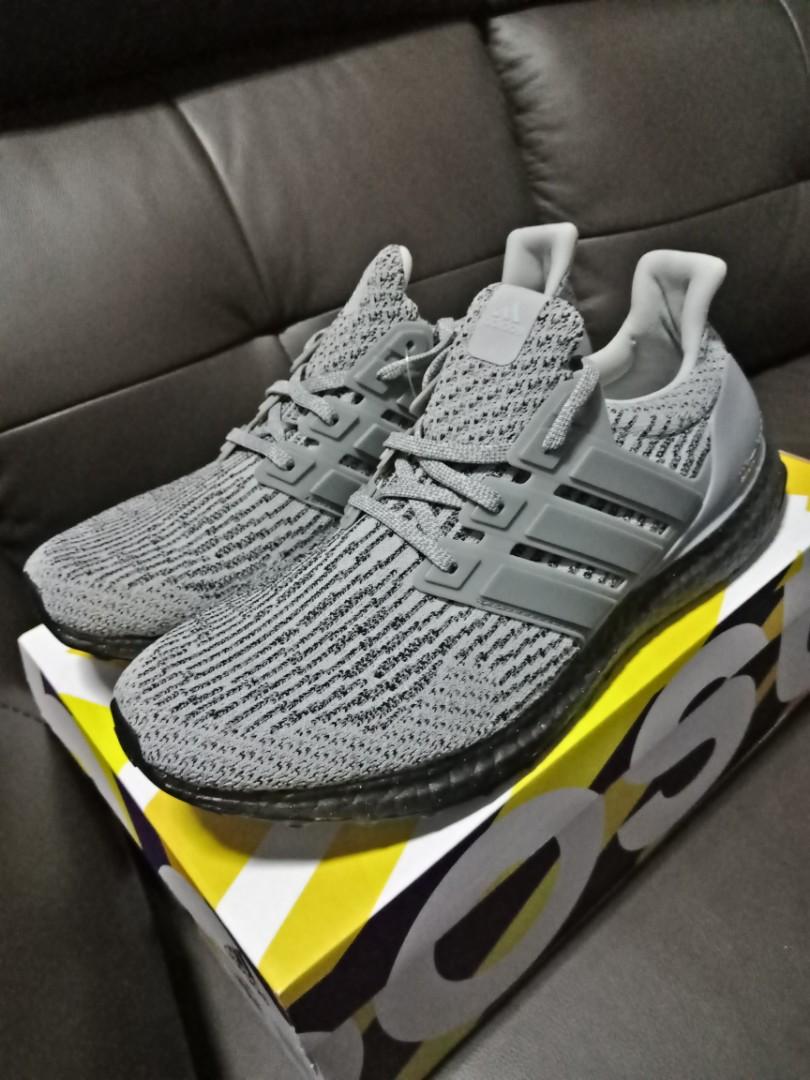 bf88d2b3f907e Adidas Ultra Boost 3.0 Triple Grey Ultraboost US10