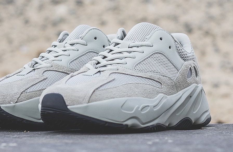 5853eb9ffda18 Adidas Yeezy Boost 700 Salt UK 8 US 8.5