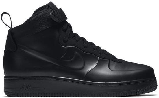 los angeles f8d99 4f086 Air Force 1 Foamposite Cup (Black)