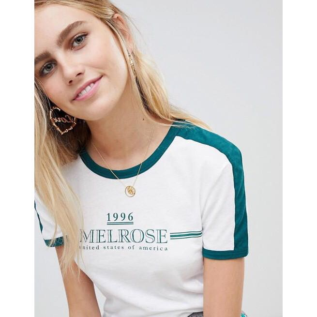 0ff701ae14 ASOS Vintage Ringer Tee, Women's Fashion, Clothes, Tops on Carousell