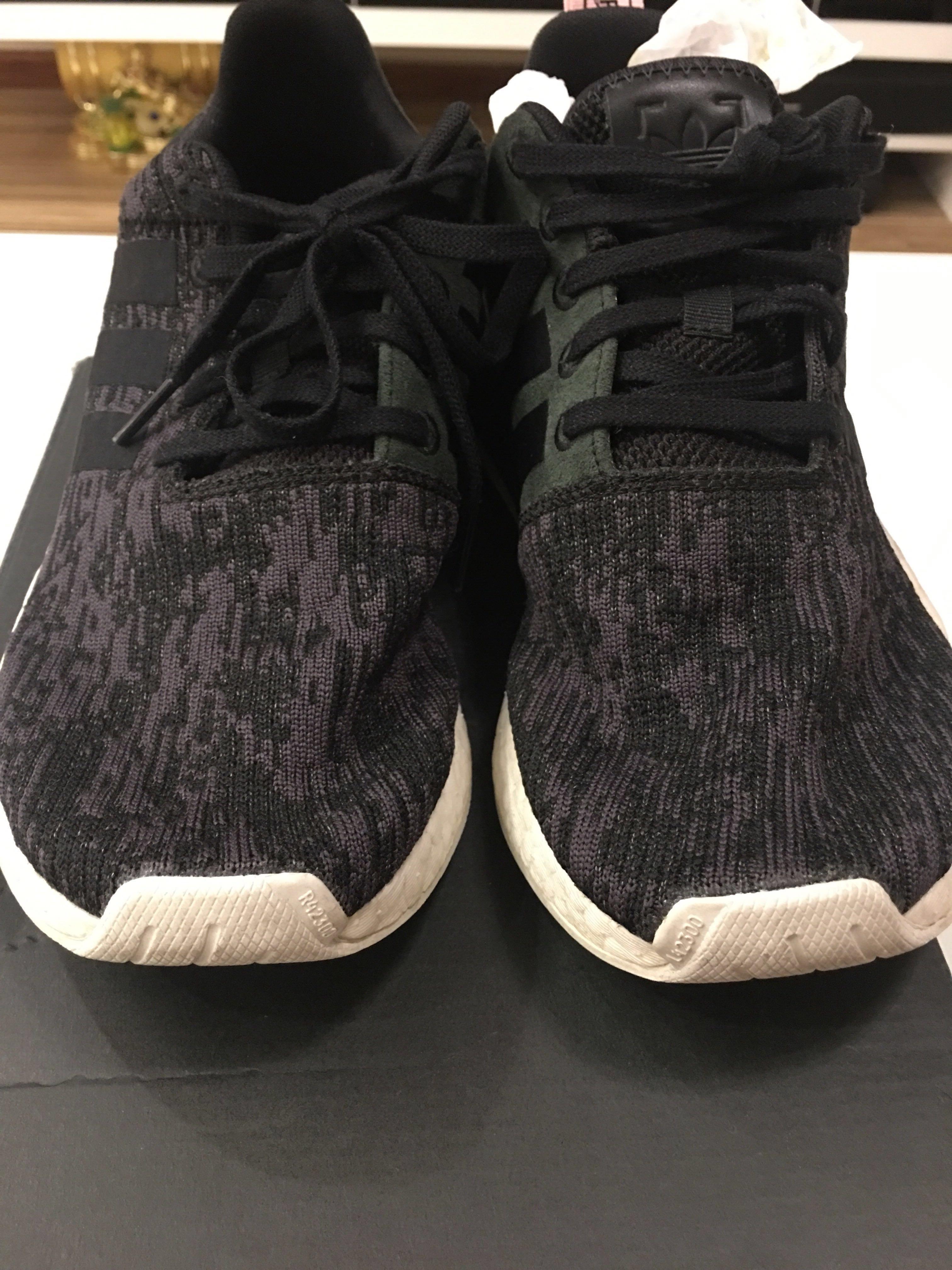c6dc5d7dffea3 Authentic Adidas Originals NMD R2 Trainers In Black