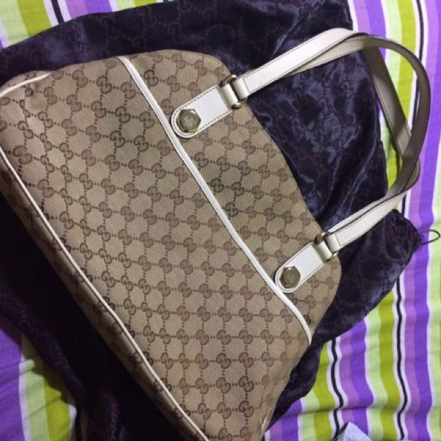 d7a4ca8e586 Authentic Second Hand Gucci Hand Bag