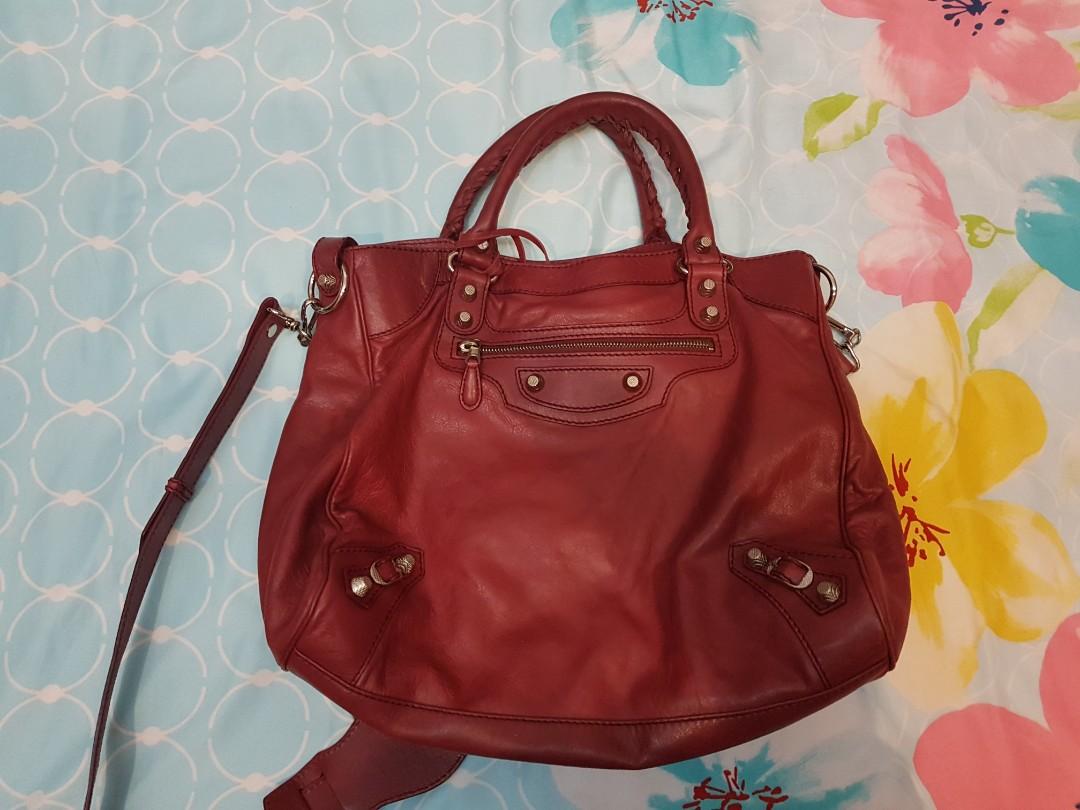 f4a167b33c Balenciaga Preloved Red Bag (AUTHENTIC)