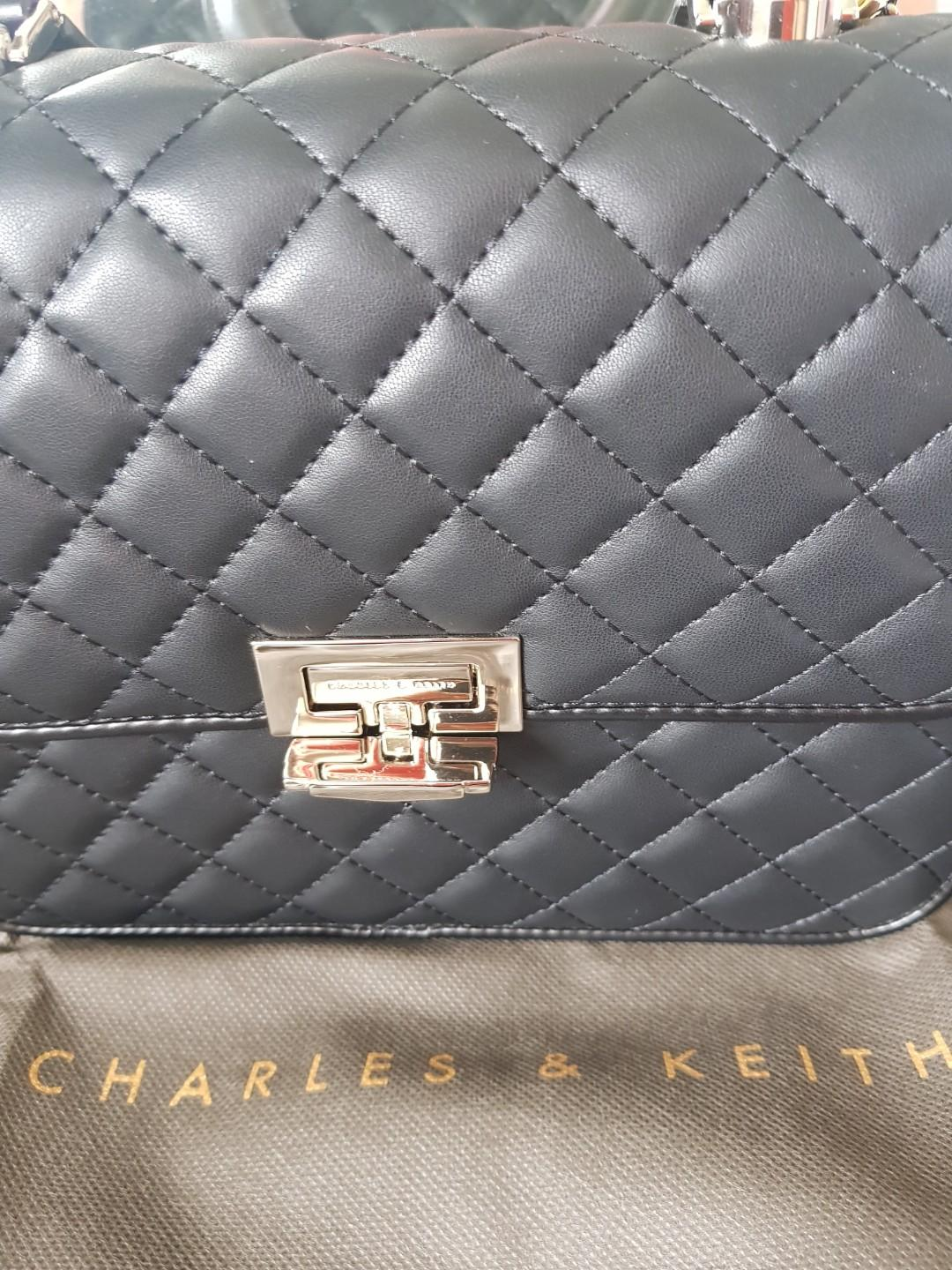 Brand Charles & Keith Shoulder Bag (Special Limited Edition) - Original from Singapore