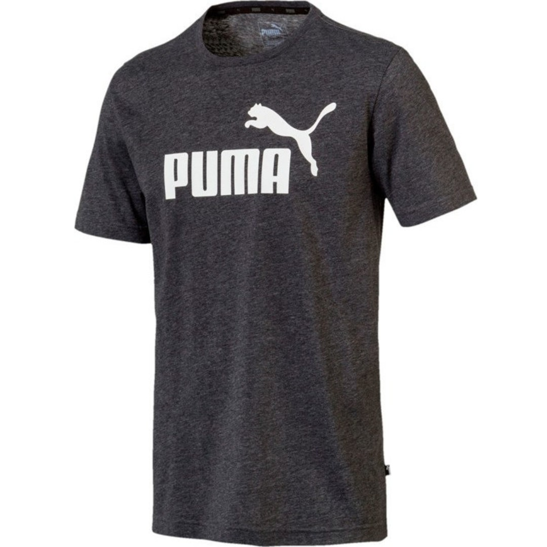af912515334 Brand New PUMA HEATHER MEN'S T-SHIRT Size: S (Gray), Men's Fashion ...