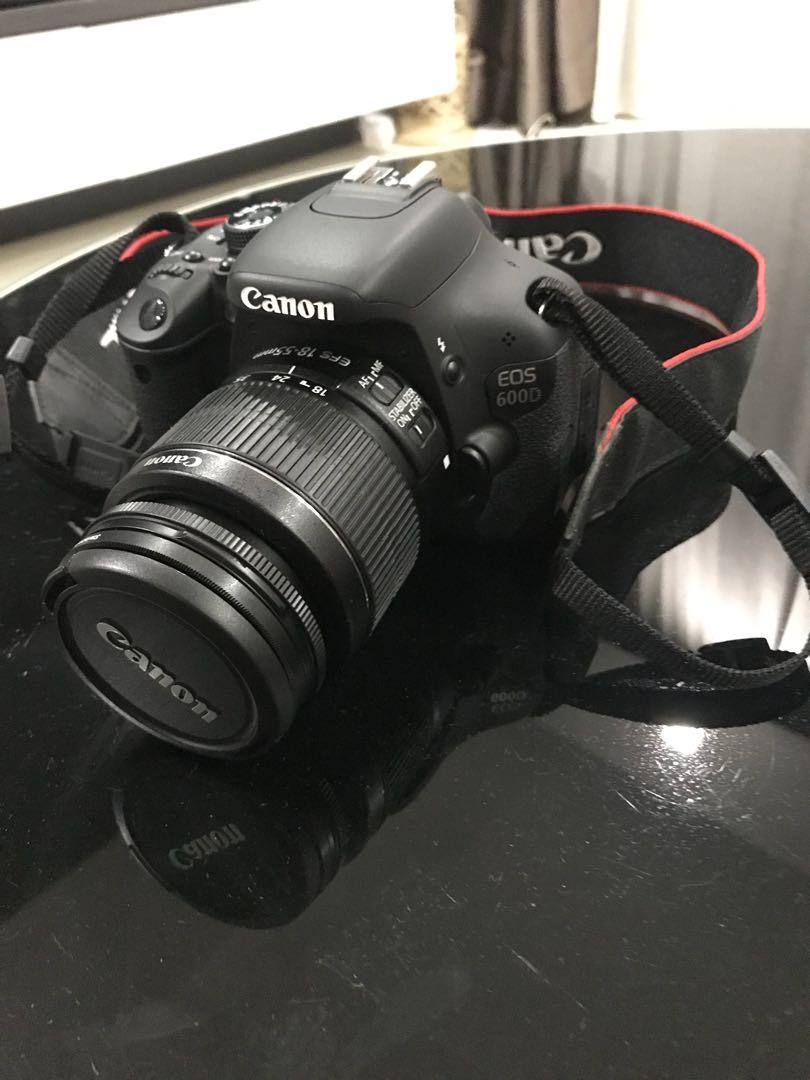 Canon EOS 600D, Photography, Cameras, DSLR on Carousell