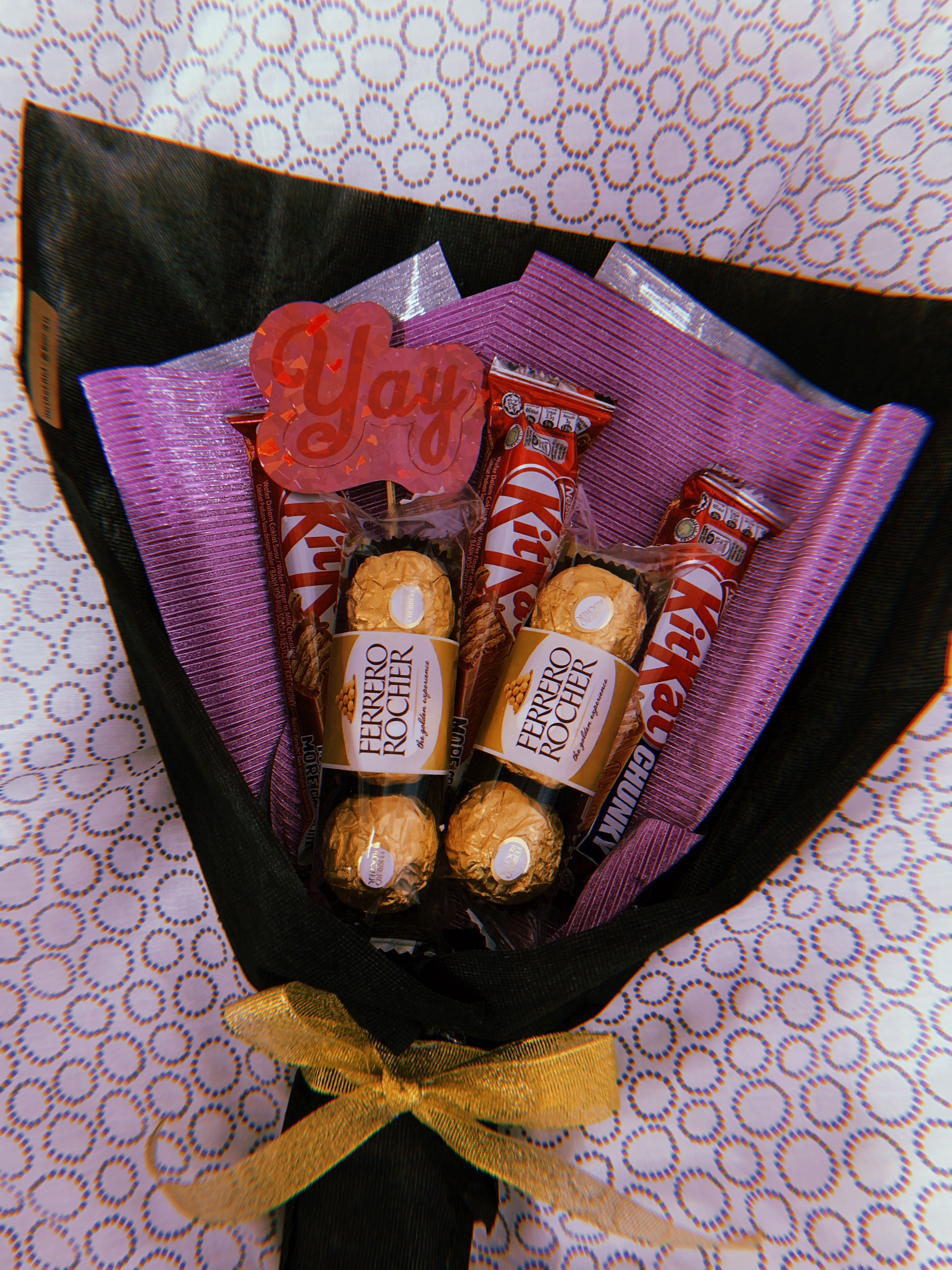 Chocolate Bouquet Birthday Gift Anniversary For Him Her Monthsary And More Gardening Flowers Bouquets On Carousell