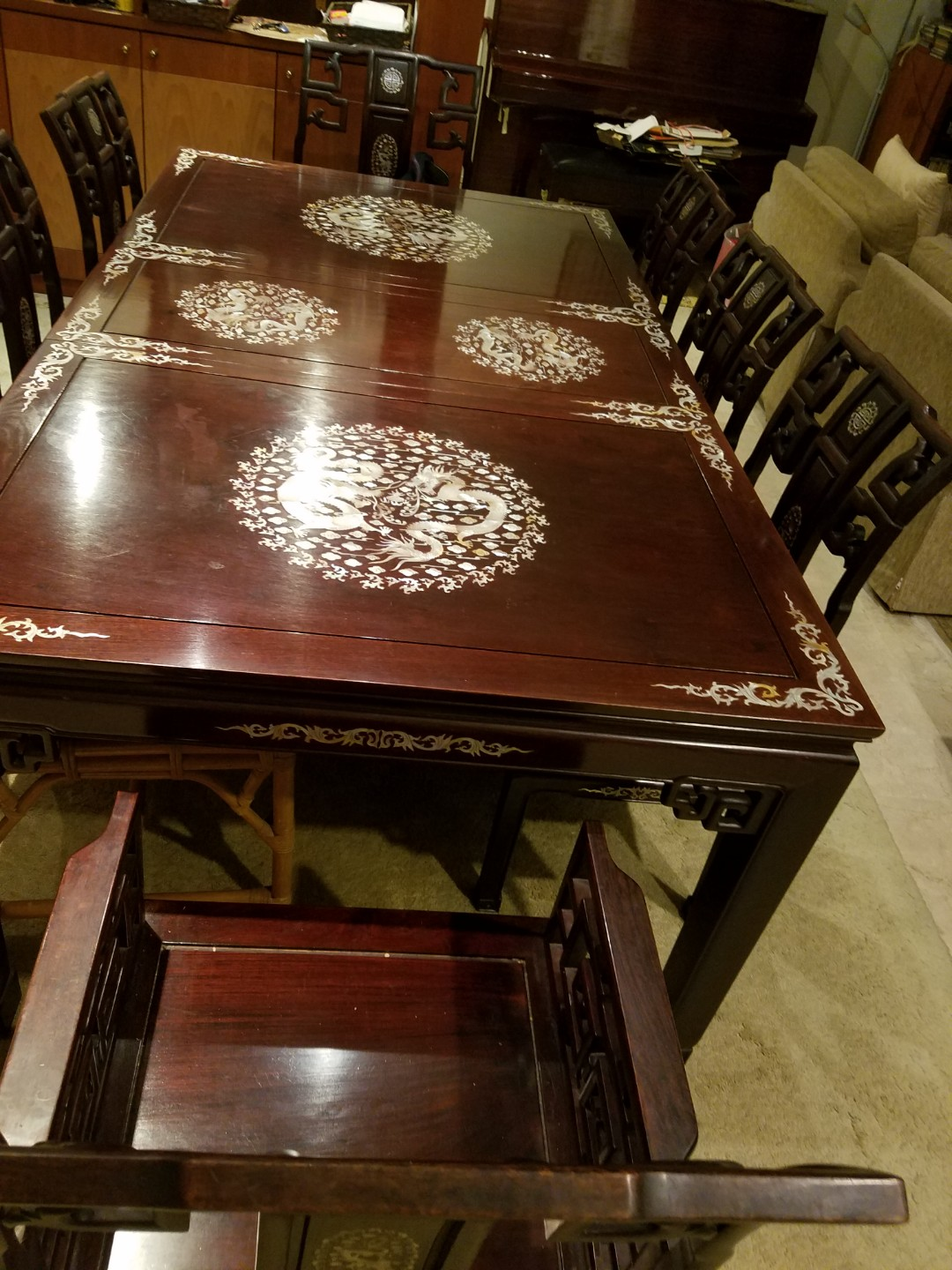 Dining Table Chairs Sideboard Furniture Tables Chairs On Carousell