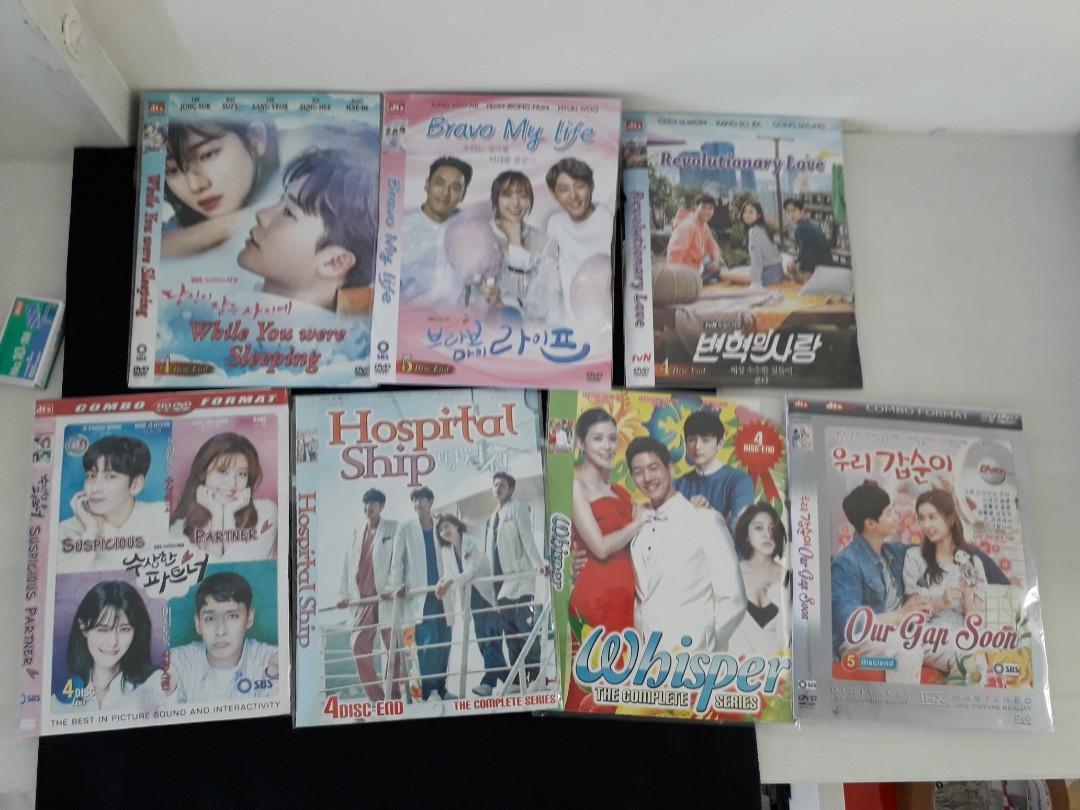 DVD Drama Korea ambil semua 25rb termasuk ongkir jabodetabek bdg