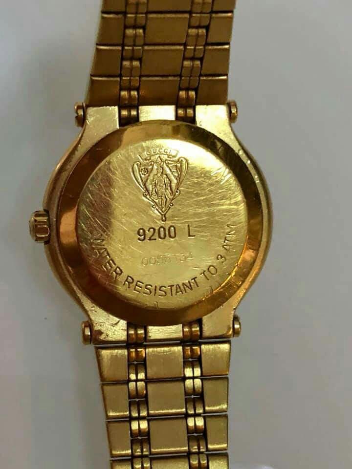 d71d8694c3b Gucci Authentic Gold 9200 L Ladies Watch