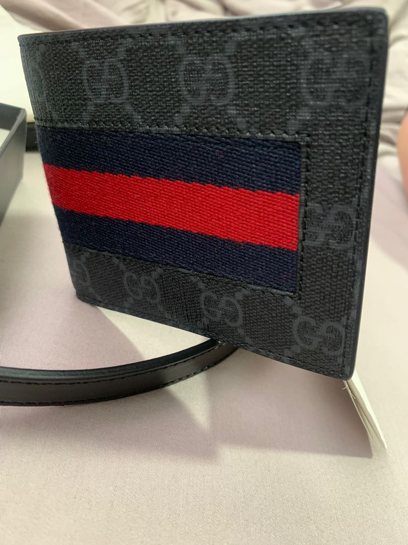 89feb87f Gucci wallet, Men's Fashion, Bags & Wallets, Wallets on Carousell