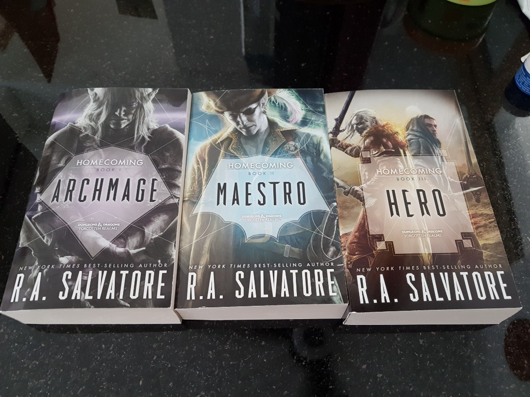 Homecoming by RA Salvatore