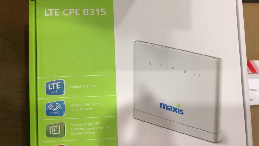Huawei B315 4G router