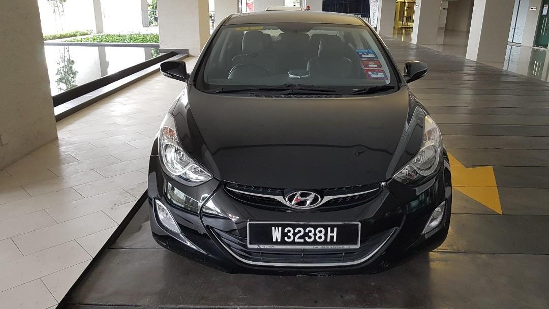 Hyundai elantra md superb condition see to believe it