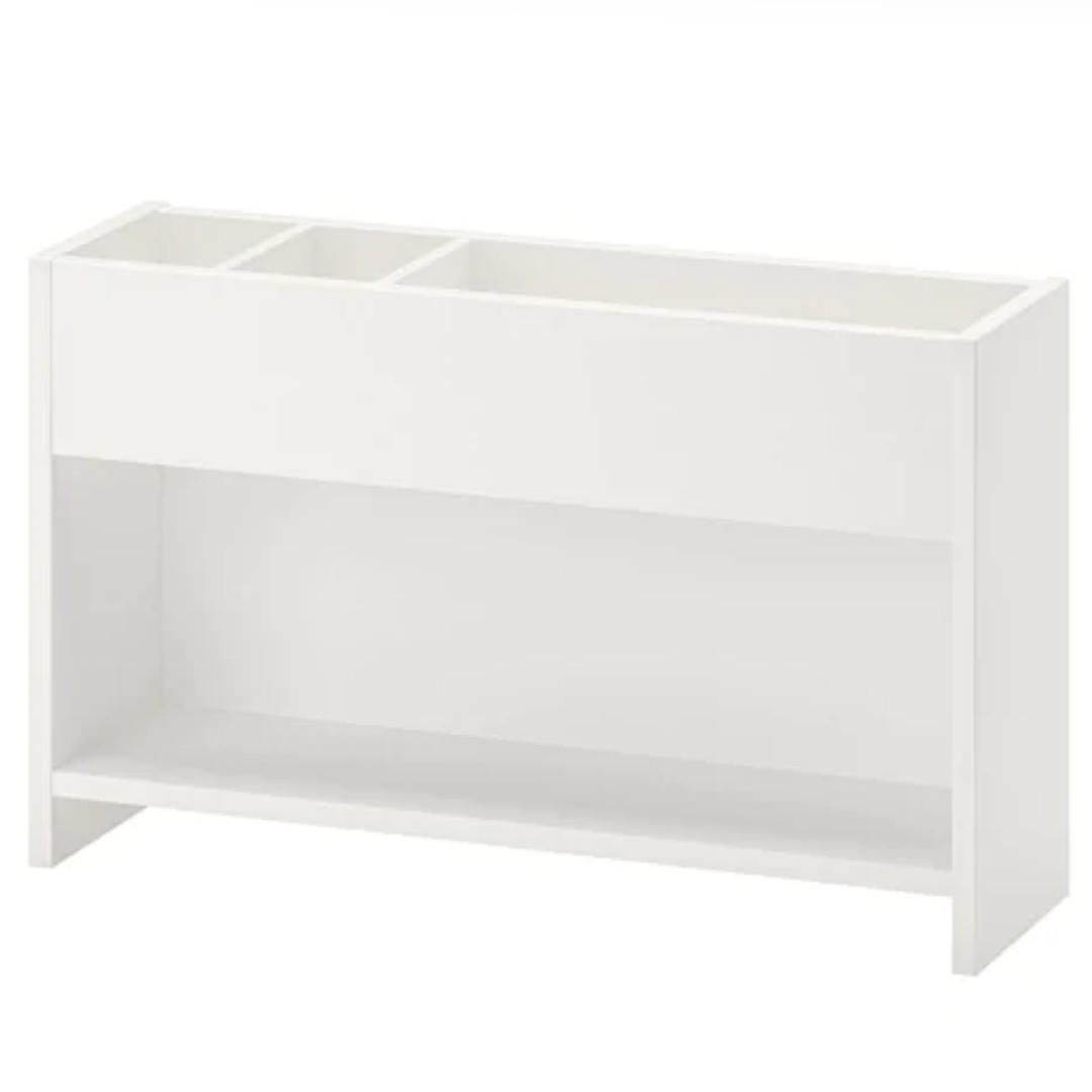 Ikea Pahl On Desk Shelf Unit