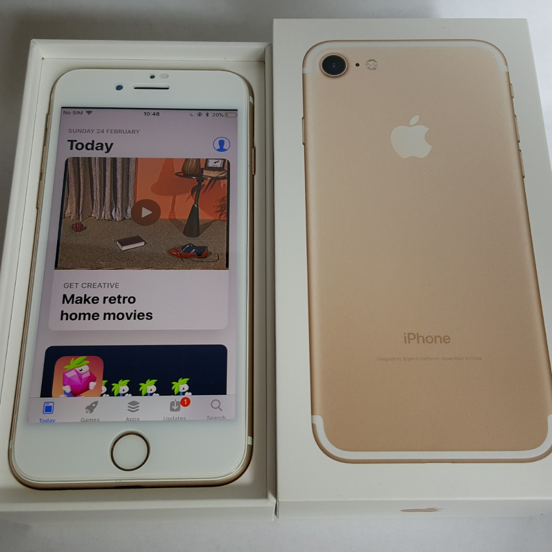 IPhone 7 32GB (Gold) MN902ZP/A, Mobile Phones & Tablets