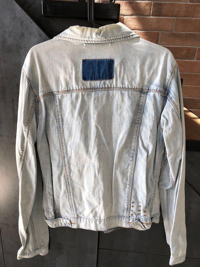 Ksubi washed light denim jacket