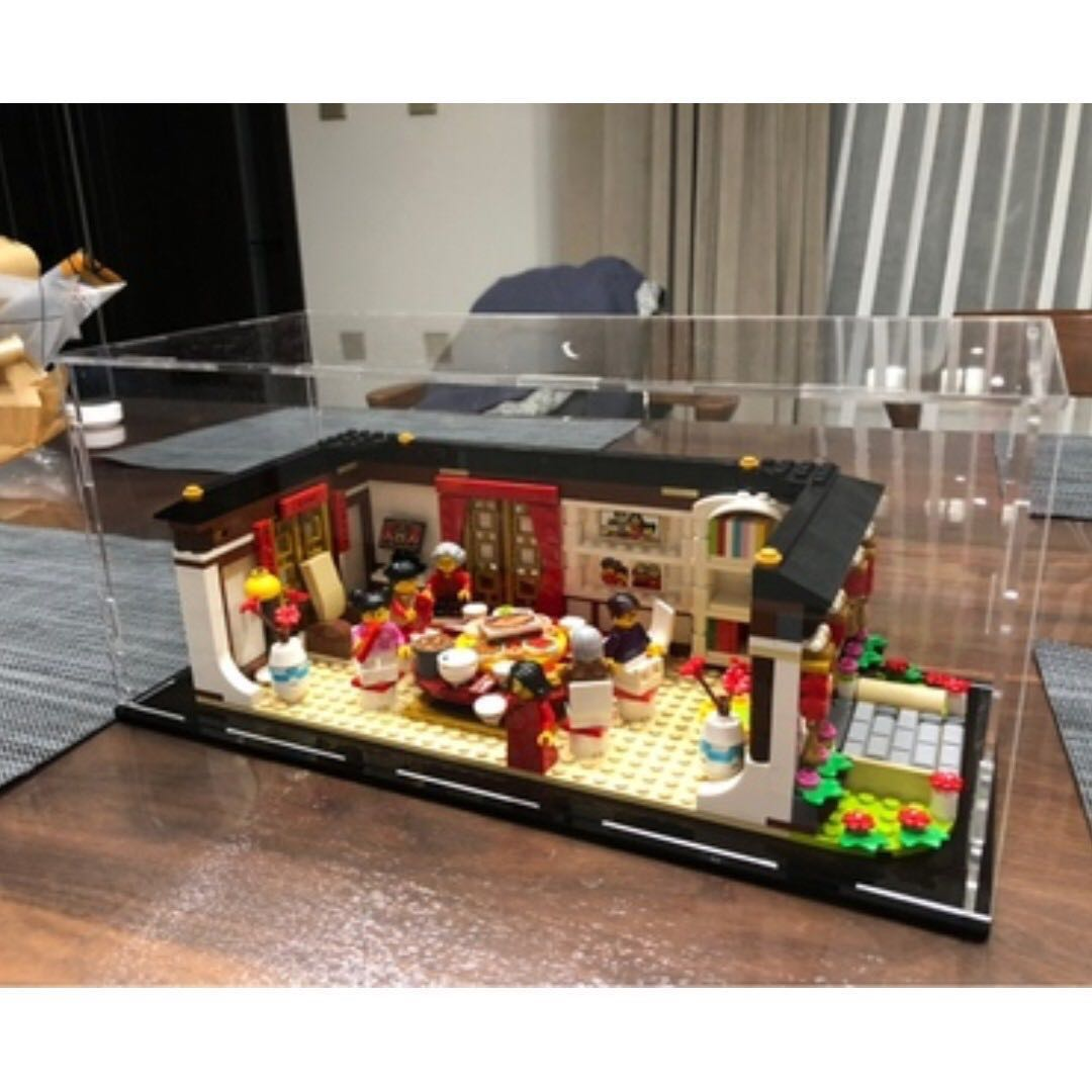 LEGO 80101 - New Year Eve Dinner Acrylic Self Assembly Display Box ... 7a971c85c
