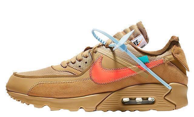 7d99e8182e55 LF WTB Nike air max 90 off white us 6.5 or us 7 (desert ore ...