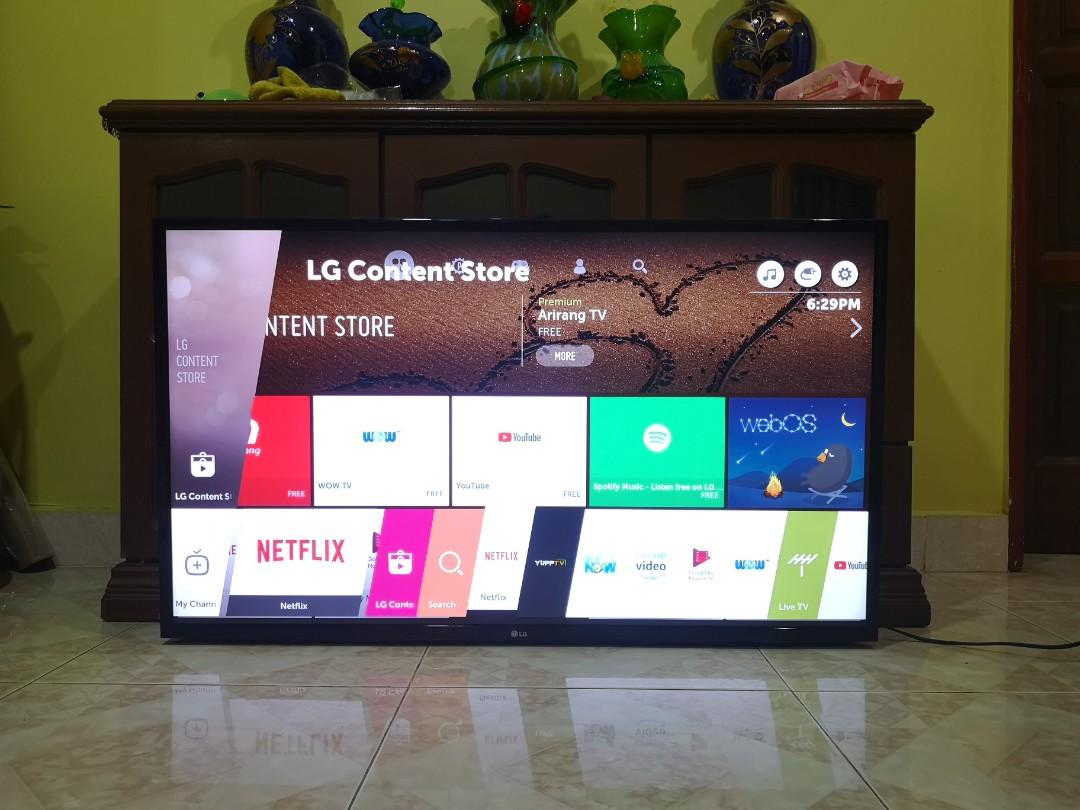 LG 43 Smart UHD 4K