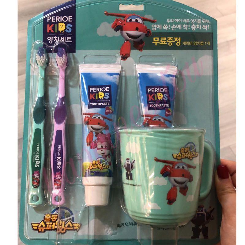 韓國LG Perioe兒童牙刷套裝