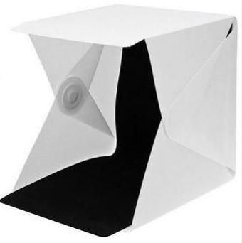Light Box white and black background